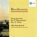 Beethoven: String Quartets No. 9 'Rasumovsky' & No. 10 'Harp'/Alban Berg Quartett