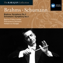 Brahms: Symphony No 4; Schumann: Symphony No 4/Herbert von Karajan/Berliner Philharmoniker/Philharmonia Orchestra