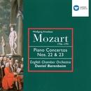 Mozart: Piano Concertos Nos 22 & 23/Daniel Barenboim/English Chamber Orchestra