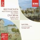 Beethoven Piano Concerto No. 5. Variations. Dvorák Symphony No. 8/Emil Gilels/Cleveland Orchestra/George Szell