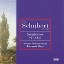 Schubert: Symphonies Nos. 3 & 5/Wiener Philharmoniker/Riccardo Muti