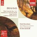 Brahms: Piano Concertos/Overtures/Daniel Barenboim/New Philharmonia Orchestra/Wiener Philharmoniker/Sir John Barbirolli