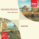 Mendelssohn Songs without Words etc./Daniel Adni