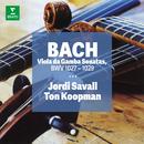 Bach - Sonatas for Viola da gamba and obbliggato Harpsichord/Jordi Savall/Ton Koopman