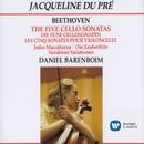 The Five Cello Sonatas/Jacqueline du Pré