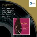 Rachmaninov, Piano Concerto No.3/ Saint-Saëns, Piano Concerto No.2/Emil Gilels/André Cluytens/Orchestre de la Société des Concerts du Conservatoire