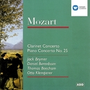 Mozart: Clarinet Concerto/Piano Concerto No. 25/Jack Brymer/Royal Philharmonic Orchestra/Sir Thomas Beecham/Daniel Barenboim/New Philharmonia Orchestra/Otto Klemperer