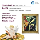 Shostakovich & Bartok:Piano Concertos/Sonata for 2 pianos & percussion/John Ogdon