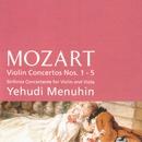 Violin Concertos Nos. 1 - 5/ Sinfonia Concertante - Mozart/Yehudi Menuhin/Bath Festival Orchestra