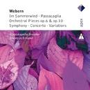 Webern : Im Sommerwind, Orchestral Works & Variations/Giuseppe Sinopoli