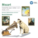 Mozart : Violin Concertos 1-3/Rondo K373/David Oistrakh/Berliner Philharmoniker
