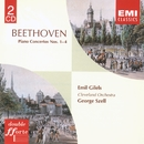 Beethoven Piano Concertos Nos. 1-4/Emil Gilels/Cleveland Orchestra/George Szell