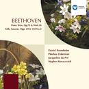 Beethoven : Piano Trios Op.70/WoO.38/Cello Sonatas/Daniel Barenboim/Pinchas Zukerman/Jacqueline du Pré