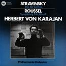 Stravinsky: Jeu de Cartes - Roussel: Symphony No. 4/Herbert von Karajan