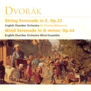 Dvorak - String Serenade in E, Op.22 / Wind Serenade in D minor Op.44/Sir Charles Mackerras/English Chamber Orchestra/English Chamber Orchestra Wind Ensemble