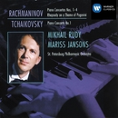 Rachmaninov: Piano Concertos 1-4 - Rhapsody on a Theme of Paganini & Tchaikovsky: Piano Concerto No.1/Mikhail Rudy/Mariss Jansons