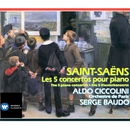 Saint-Saëns Les 5 Concertos pour piano/Aldo Ciccolini