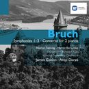 Bruch: Symphonies and Concerto for 2 pianos/James Conlon