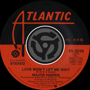 Love Won't Let Me Wait / After Loving You [Digital 45]/Major Harris