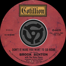 Don't It Make You Want To Go Home / I've Gotta Be Me [Digital 45]/Brook Benton