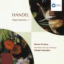 Handel: Organ Concertos I/Simon Preston/Yehudi Menuhin/Menuhin Festival Orchestra