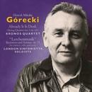 """Górecki: Already It Is Dusk & """"Lerchenmusik""""/Kronos Quartet, London Sinfonietta Soloists"""