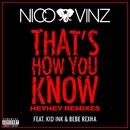 That's How You Know (feat. Kid Ink & Bebe Rexha) [HEYHEY Remixes]/Nico & Vinz