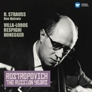Strauss, Richard: Don Quixote - Honegger: Cello Concerto (The Russian Years)/Mstislav Rostropovich