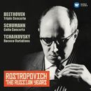 Schumann: Cello Concerto - Tchaikovsky: Rococo Variations (The Russian Years)/Mstislav Rostropovich