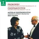 Prokofiev: Sinfonia concertante - Shostakovich: Cello Concerto No. 1/Mstislav Rostropovich