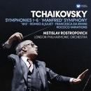 Tchaikovsky: Symphonies  Nos 1-6, Manfred Symphony, Overtures & Rococo Variations/Mstislav Rostropovich