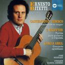 Obras de Castelnuovo-Tedesco, Halffter, García Abril/Ernesto Bitetti