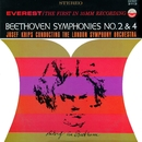 Beethoven: Symphonies No. 2 & 4/London Symphony Orchestra & Josef Krips