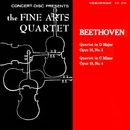 Beethoven: String Quartets, Op. 18, Nos. 3 & 4 (Digitally Remastered from the Original Concert-Disc Master Tapes)/The Fine Arts Quartet