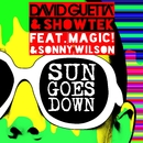 Sun Goes Down (feat. MAGIC! & Sonny Wilson) [Lyric Video]/David Guetta & Showtek