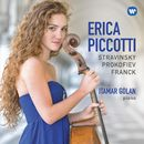 Stravinsky, Prokofiev & Franck: Works for Cello & Piano/Erica Piccotti & Itamar Golan