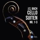 J.S. Bach: Cellosuiten Nr. 1-3/Heinrich Schiff