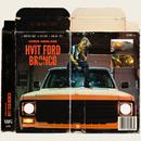 Hvit Ford Bronco/Chris Abolade