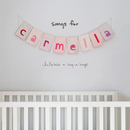 songs for carmella: lullabies & sing-a-longs/christina perri