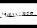 More Than You Think I Am (Lyric Video)/Danny Gokey