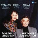 Dukas: L'apprenti sorcier - Strauss: Sinfonia domestica - Ravel: La valse/Martha Argerich
