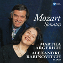 Mozart: Sonatas for Two Pianos and Piano Four-Hands/Martha Argerich