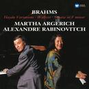 Brahms: Haydn Variations, Op. 56b, Waltzes, Op. 39 & Sonata in F Minor, Op. 34b/Martha Argerich