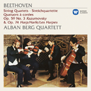 "Beethoven: String Quartets, Op. 59 No. 3 ""Razumovsky"" & 74 ""Harp""/Alban Berg Quartett"