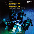 Rihm & Schnittke: String Quartets No. 4 (Live at Vienna Konzerthaus, 1990)/Alban Berg Quartett