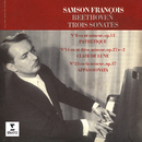 """Beethoven: Sonates pour piano Nos. 8 """"Pathétique"""", 14 """"Clair de lune"""" & 23 """"Appassionata""""/Samson François"""