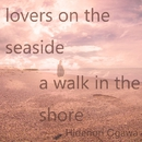 lovers on the seaside / a walk in the shore/Hidenori Ogawa