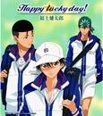 Happy lucky day!(アニメ「テニスの王子様」)/福士健太郎