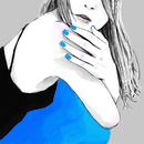 スカートの色は青/ART-SCHOOL