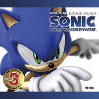 SONIC THE HEDGEHOG ORIGINAL SOUND TRACK Vol. 3